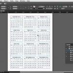 Calendar Design Tutorial Making The Calendar Tables Lynda Microsoft Word Calendar Wizard Download