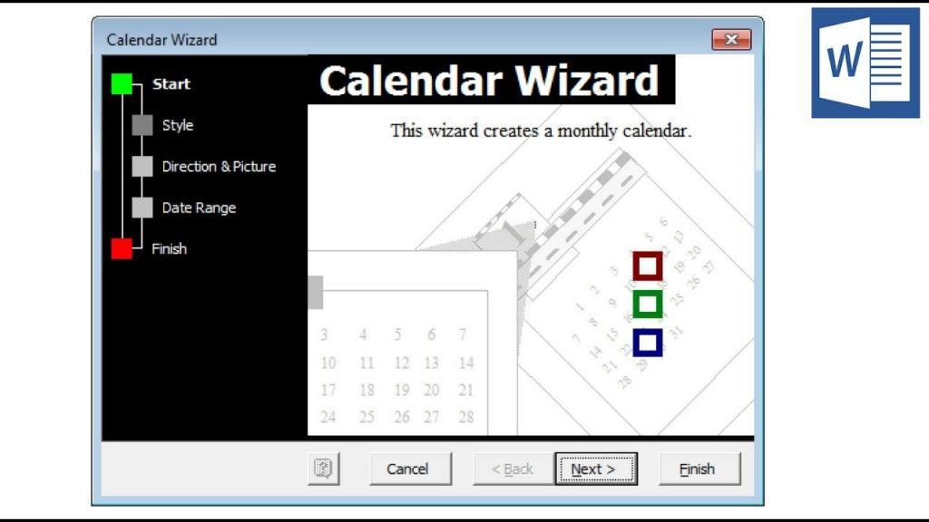 calendar wizard microsoft word calendar wizard download