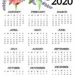 Calendar Year 2020 Holidays Template 2019 Calendars For Calendar Week At A Glance Template 2020