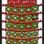 Christmas Kindness Countdown An Advent Calendar For Your 12 Days Of Christmas Calendar With Tear Off