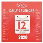 Daily Tear Off Desk Calendar 2020 Calendar Club Uk 12 Days Of Christmas Calendar With Tear Off