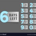 Day Count Down Zohrehorizonconsultingco 365 Day Retirement Calendar