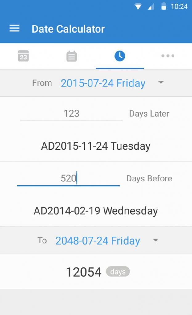 days matter apk 10000 year calendar calculator download