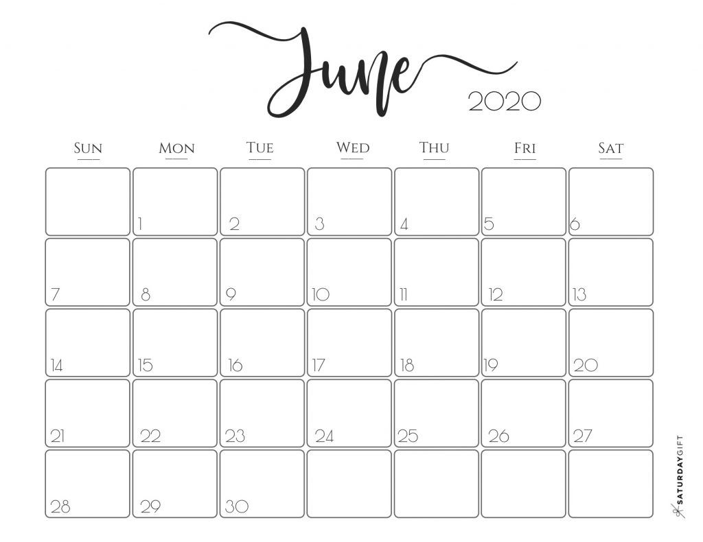 elegant 2020 calendar free printables free printable printable 2020 june calendar 8 5 x 11