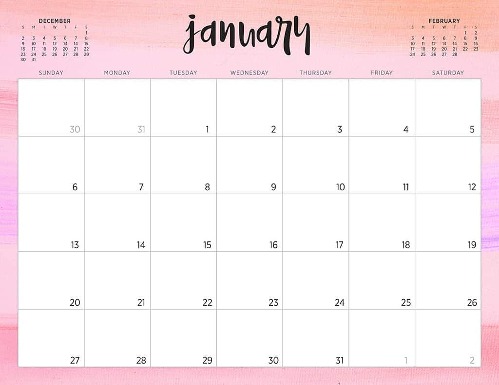 free 2019 printable calendars 46 designs to choose from sanrio printable calendar 2020