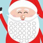 Free Christmas Countdown Calendar Printable Xmas Countdown Calendar