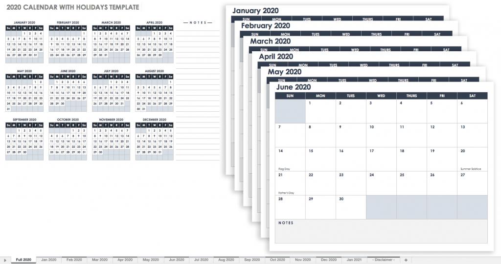 free google calendar templates smartsheet calendar spreadsheet 2020 with six periods per day 1