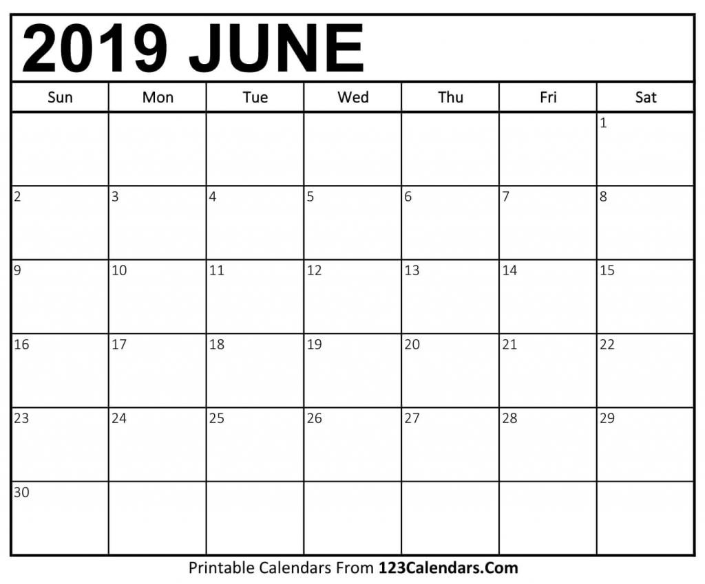 free printable blank june 2019 calendar free printable june free printable blank calendar full page