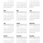 Free Printable Calendars And Planners 2019 2020 2021 2020 Calendar Week At A Glance Template 2020