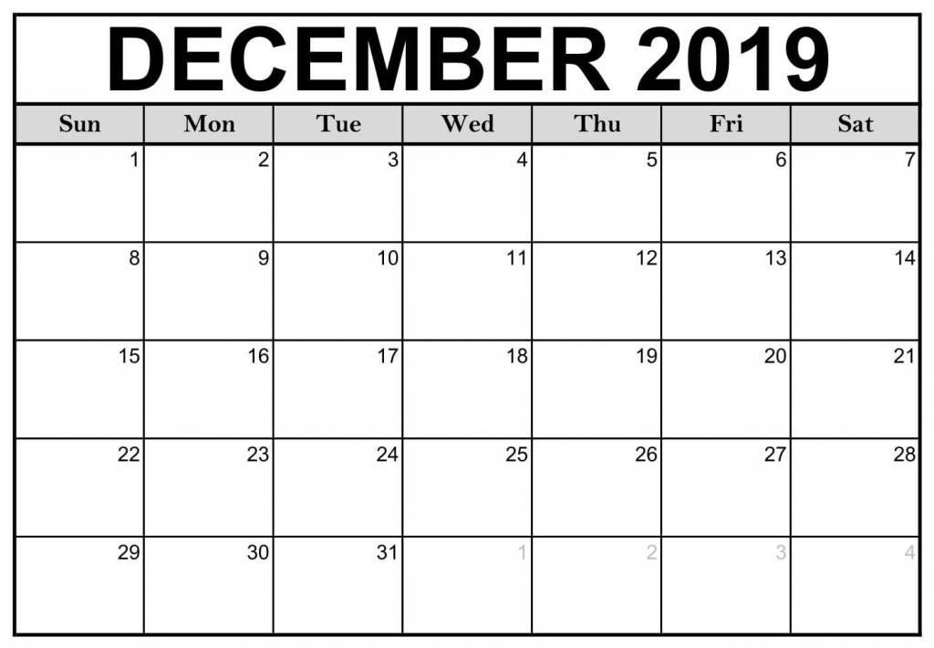 free printable december 2019 calendar notes 2019 calendars print calendar period