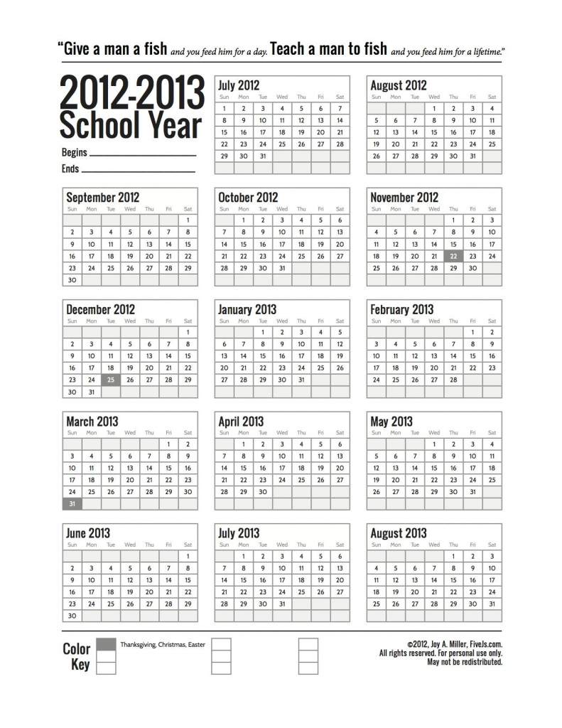 free printable school calendar for 2019 2020 education blank 2020 printable calendar for homeschool