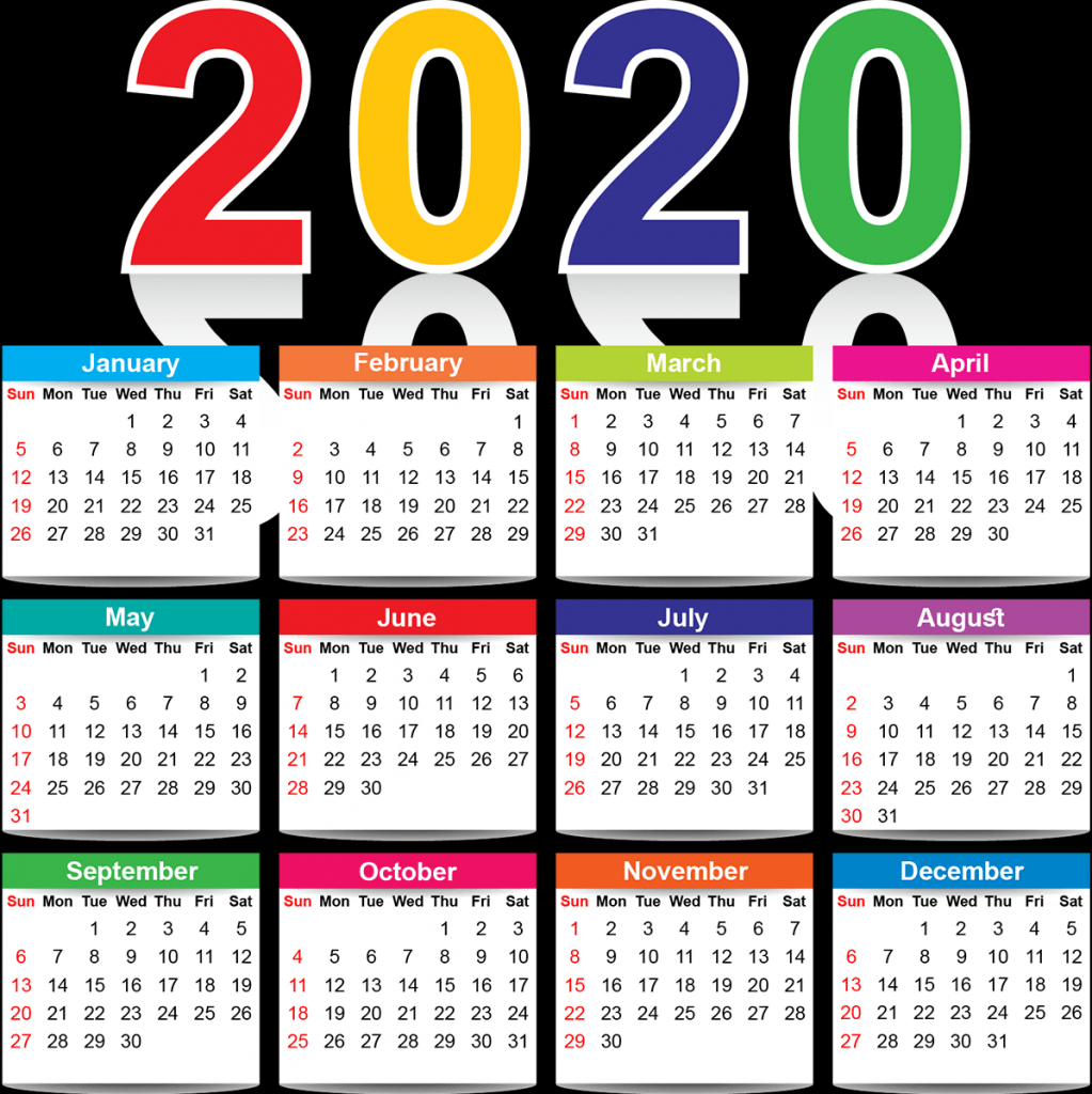 full page yearly calendar 2020 printable cute excel set microsoft works calendar 2020
