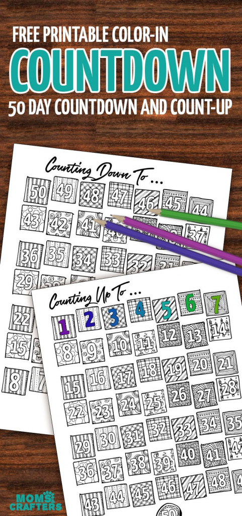 grab this fun color in countdown and progress tracker make a printable countdown calendar