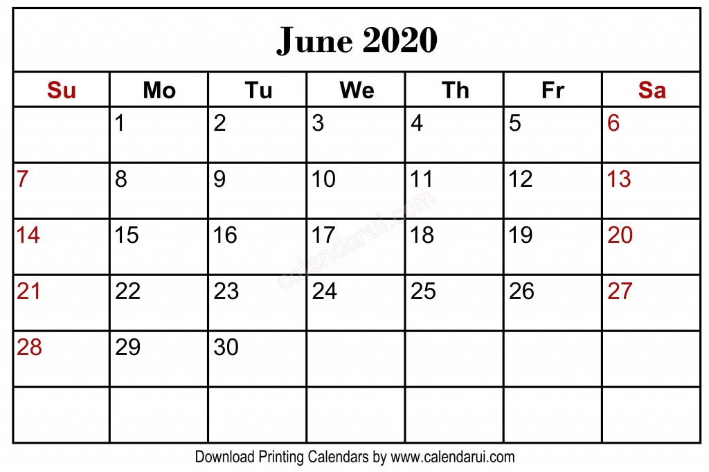 homepage 2020 calendar june 2020 blank calendar 8 5 x 11 june 2020 prinatable calendar