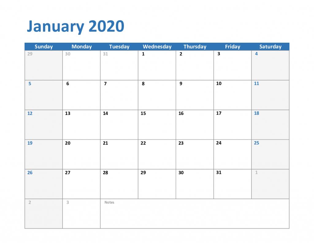 january 2020 calendar printable free printable calendar print calendar period