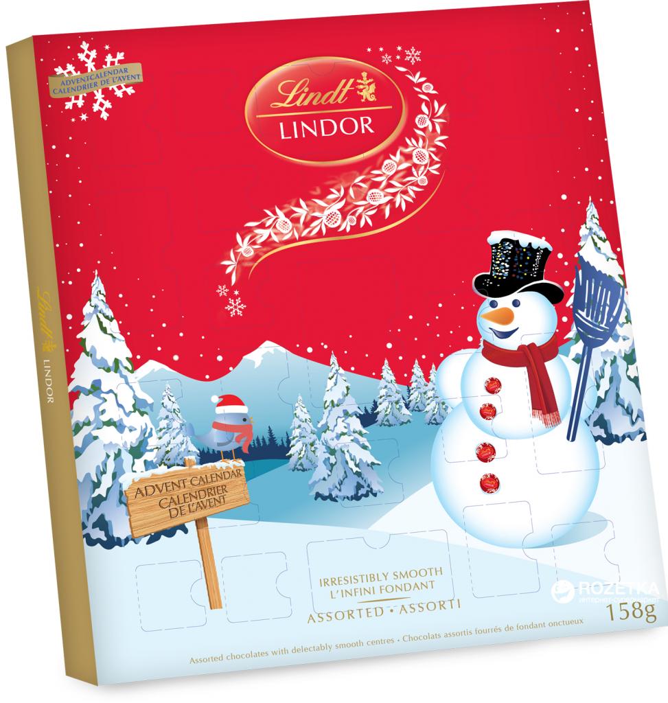 lindt 158 743434002041 lindor advent calendar