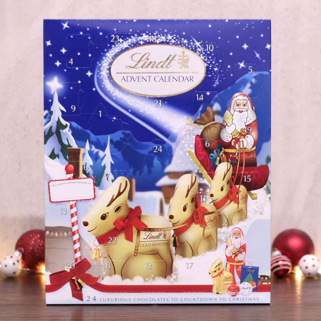 lindt lindt advent calendar lindt advent calendar