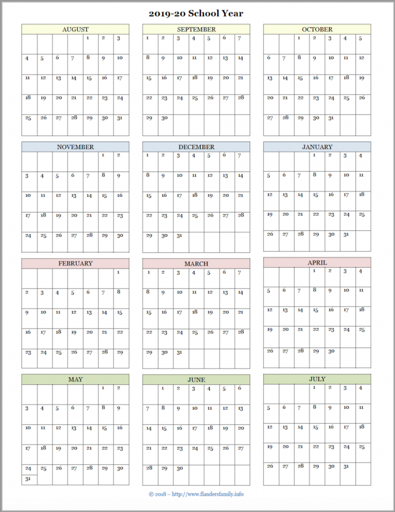 mailbag monday more academic calendars 2019 2020 blank 2020 printable calendar for homeschool 1