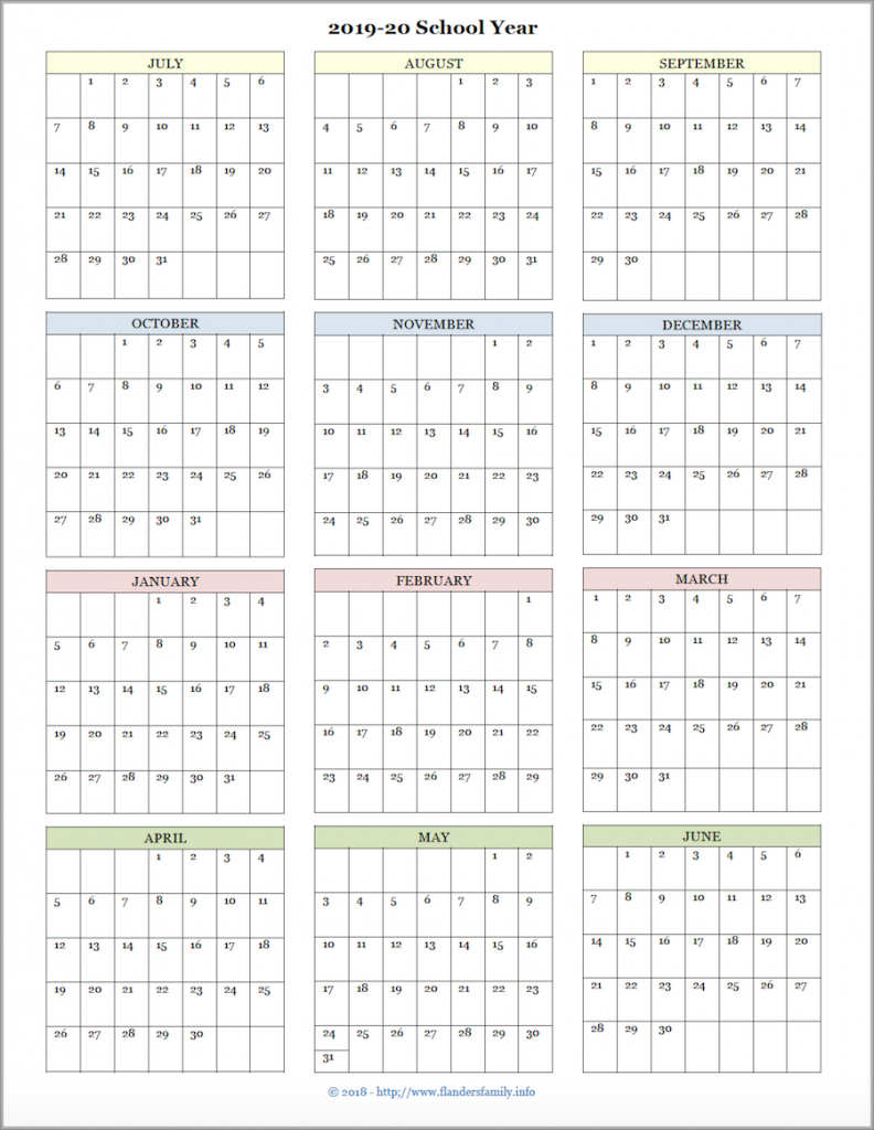 mailbag monday more academic calendars 2019 2020 blank 2020 printable calendar for homeschool