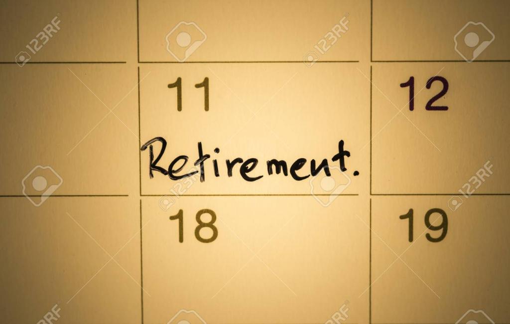 mark on the calendar retirement calendar to retirement