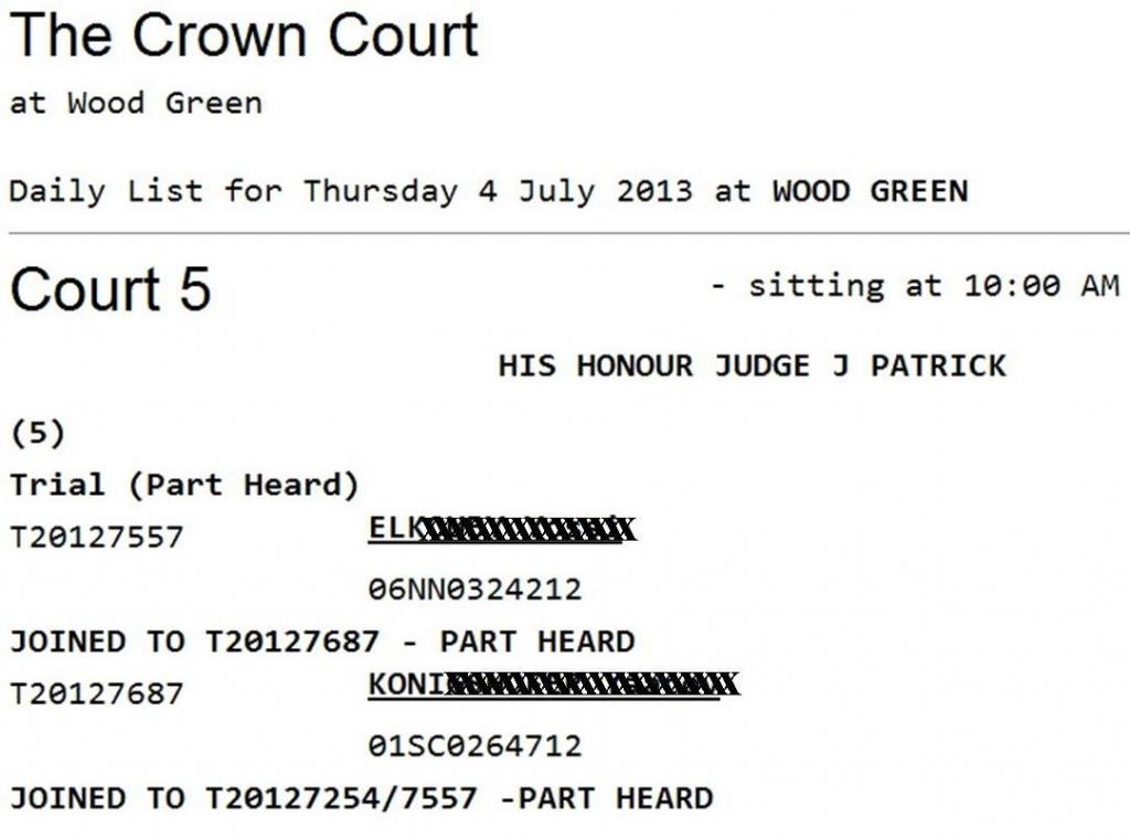 nc court dates defendant name nc court calender distict superior court