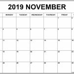 November 2019 Calendar January Calendar Printable Blank Print Calendar Period