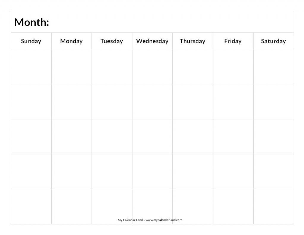 printable blank calendar printable blank calendar blank print blank six week