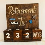 Retirement Countdown Calendar With Blocks Countdown Retirement Calendar Countdown
