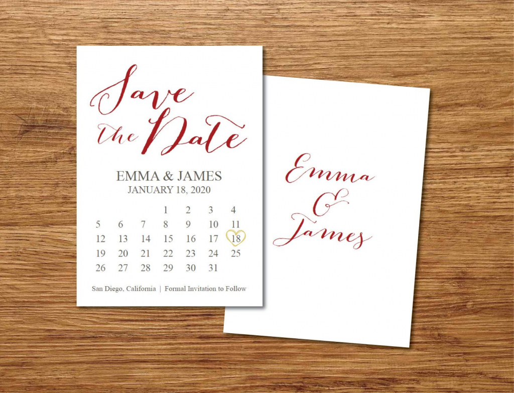 save the date calendar templatesave the date postcard save the date calendar template 2020