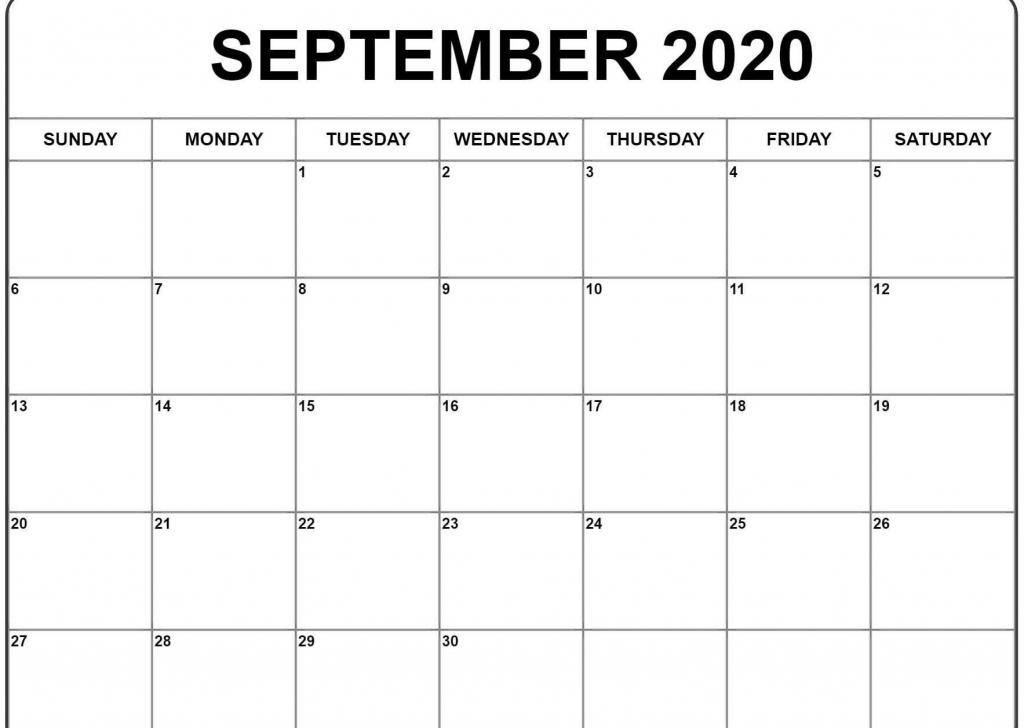 september 2020 calendar september calendar monthly 2020 counting calendar days