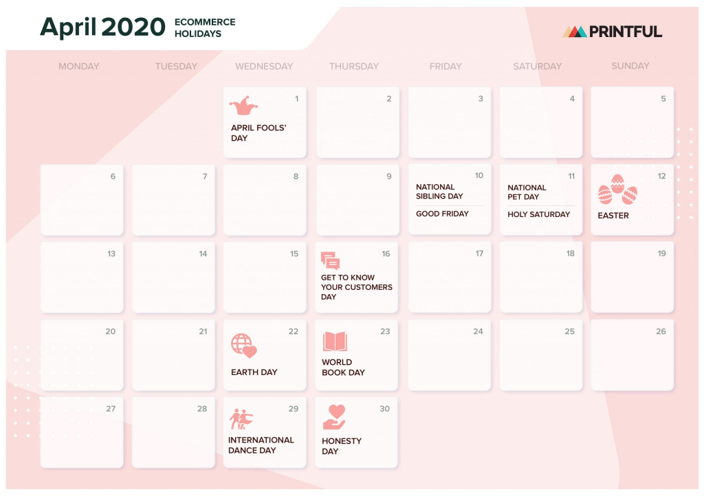 the ultimate 2020 ecommerce holiday marketing calendar show me a calender for a six week periode