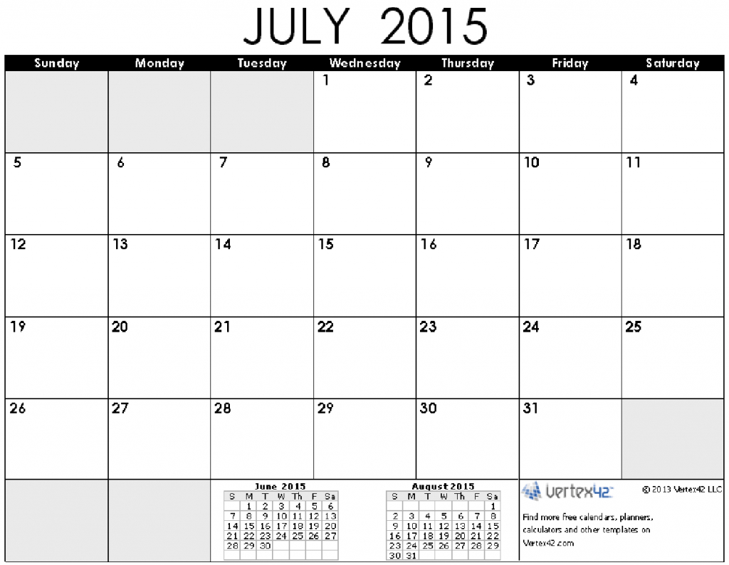 Time And Date July 2015 Calendar Printable June 2019 Time Date Calendar Printable