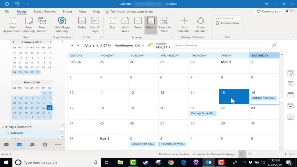 using the microsoft outlook calendar 2019 tutorial does open office 4 have calendar
