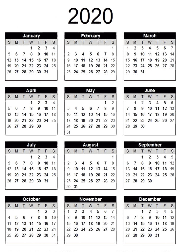 yearly calendar with notes 2020 pdf 2019 calendars for microsoft works calendar 2020