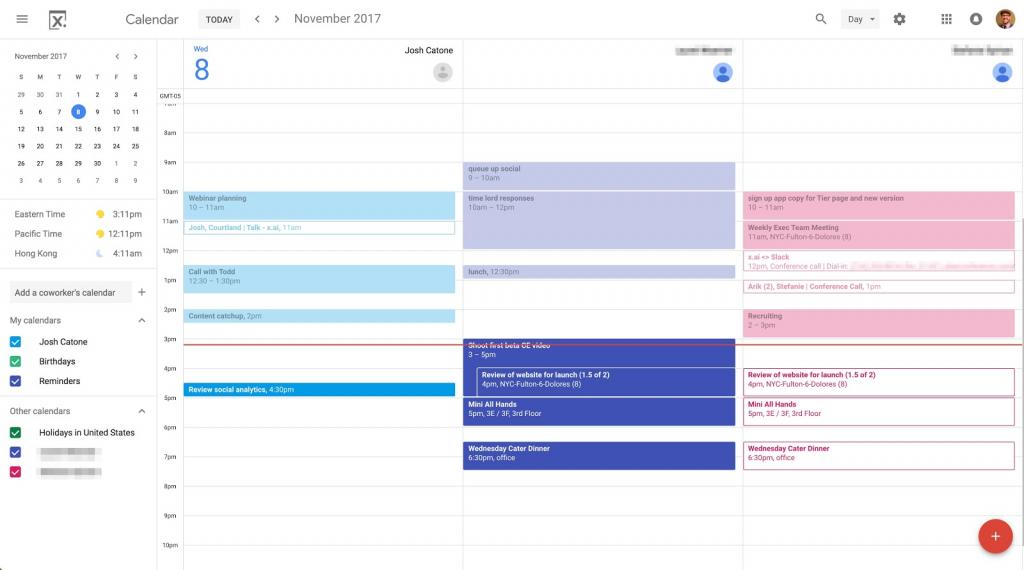 10 ways to rock your google calendar xai daily calendar showing the hours