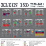 2020 2021 Klein Isd District Calendar Released Klein Isd Klein Isd Calendar 2020