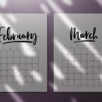 45 Best Printable Calendars 2020 Both Free And Premium Running Calendar Template 2020 Printable Free