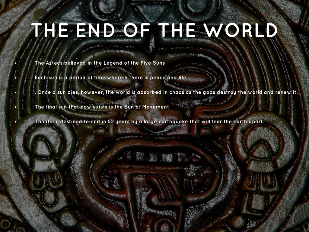 aztec mythology nydia campbell aztec end of the world