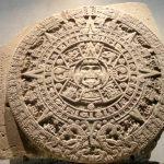Aztec Sun Stone Wikipedia Aztec End Of The World