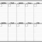 Blank Calendar With Lines Template Monthly Printable Calender Calendar For The Week With Lines