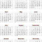 Chinese Calendar 2020 Printable Template Calendar Template Printable Ovulation Calendar 2020