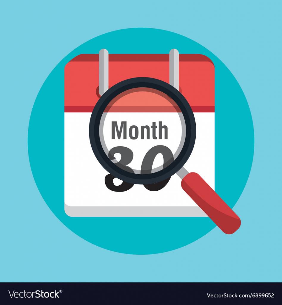 end of month calendar end of the calendar