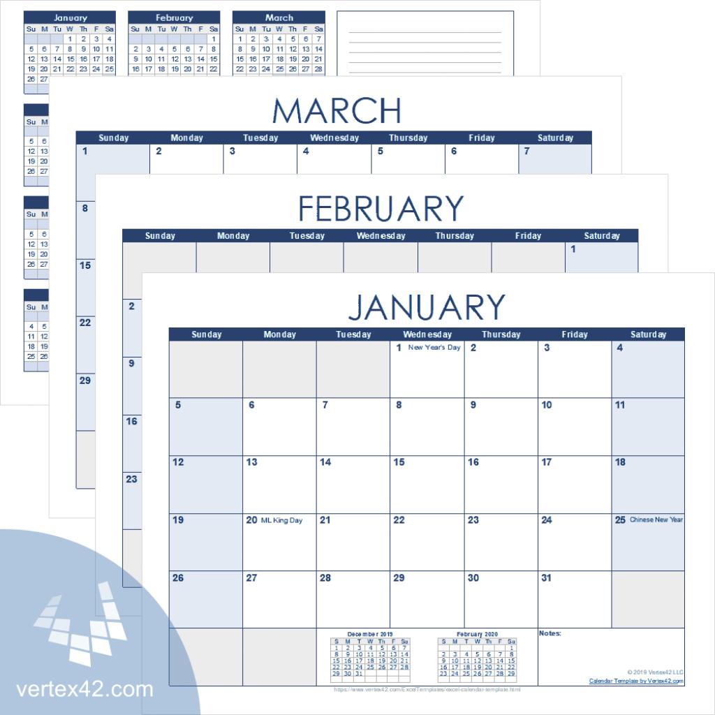 excel calendar template for 2020 and beyond openoffice 2020 calendar template