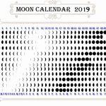 Full Moon And New Calendar 2019 Moon Phase Calendar Moon Calendar To Print With Moon Phases