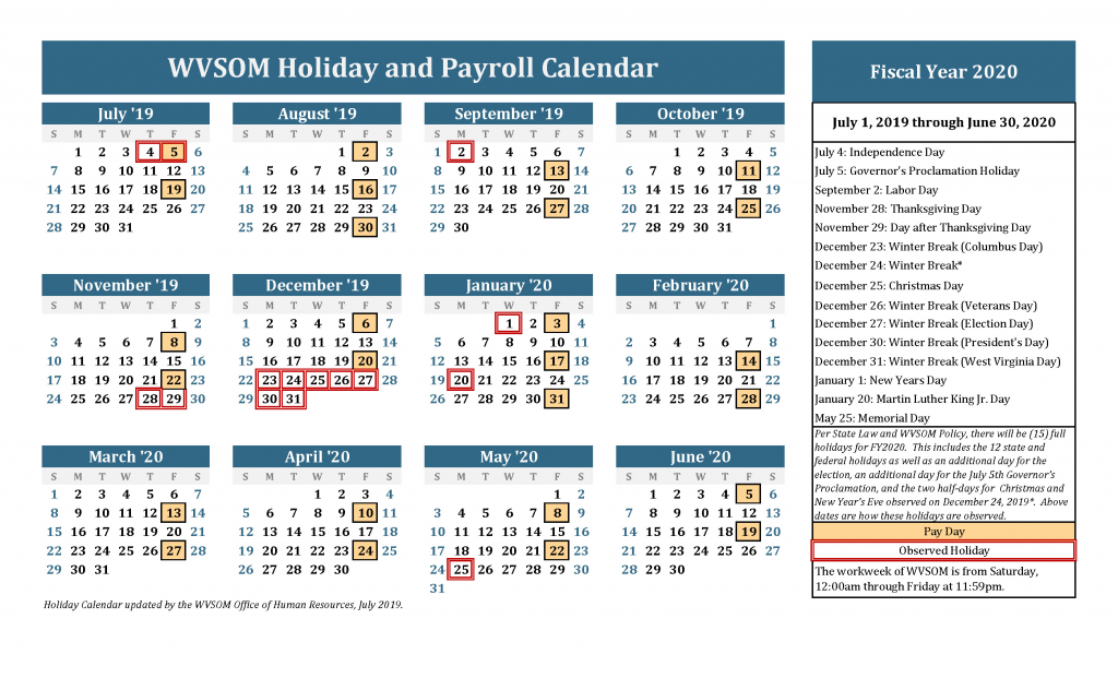 human resources holiday calendar west virginia school of 24 hours calendar schedule for month of august