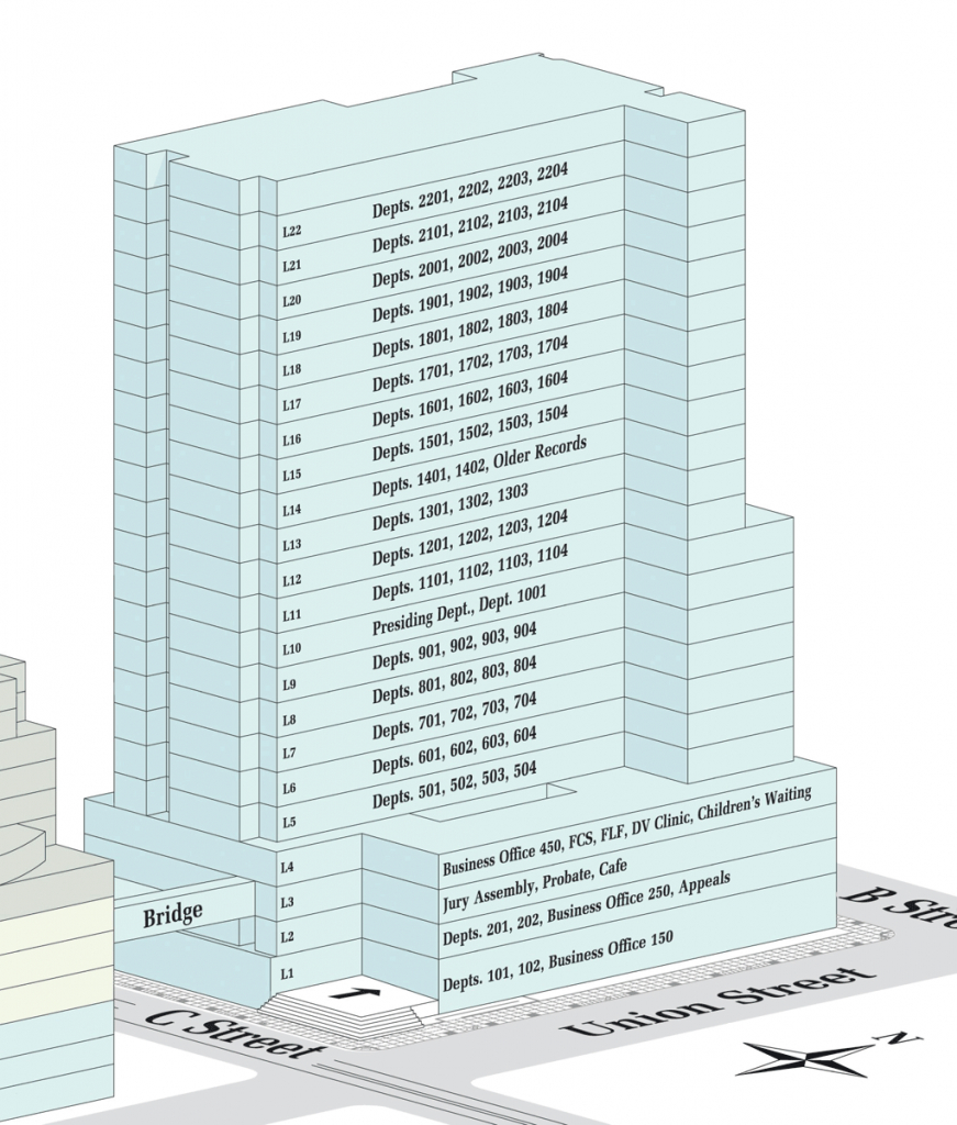new central courthouse district and superior court calendar