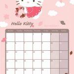 November 2018 Calendar Latest Calendar Hello Kitty October Printable Calendar 2020