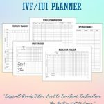 Pin On Planners Printable Printable Ivf Calendar