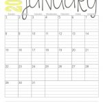 Print These Simple Lined Monthly Calendars For Free Free Lined Monthly Planner