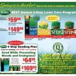 Scotts Lawn Care Program Saratoga Quality Hardwaresaratoga Scotts Lawn Care Schedule
